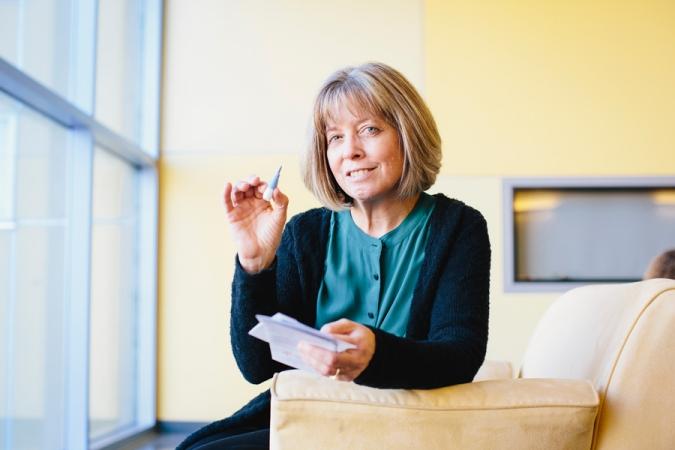 HSRI Director Deborah Wiebe