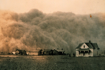 1935 dust bowl photograph courtesy of NOAA George E. Marsh Album