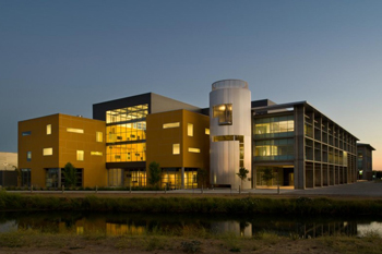 HSRI's home: the Social Science & Management Building at UC Merced