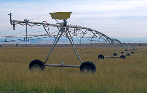 Agricultural irrigation system